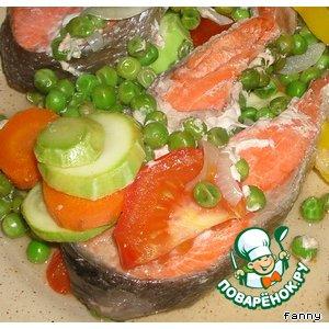 Рецепт: Рыба, запеченная в конверте