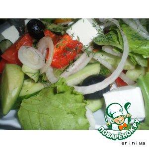 Рецепт: Классический греческий салат