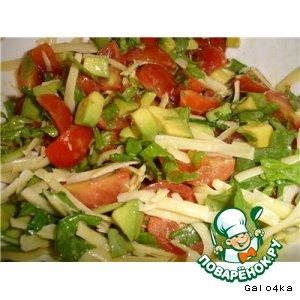 Рецепт: Итальянский салат
