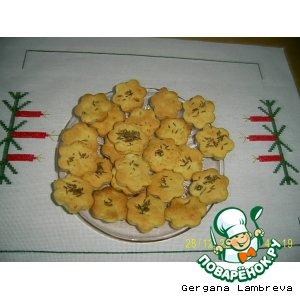 Рецепт: Печенье картофельное