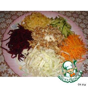 Рецепт: Французский салат