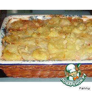 Рецепт: Картофельная запеканка с мясом