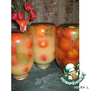 Рецепт: Консервированные помидоры в горчице
