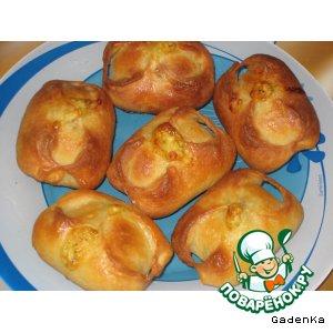 Рецепт: Пирожки с кабачками