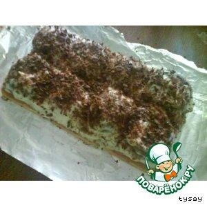 Рецепт: Быстрый торт Холмики