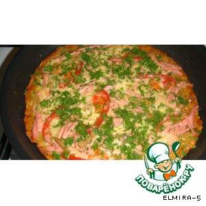 Рецепт: Пицца из картофеля