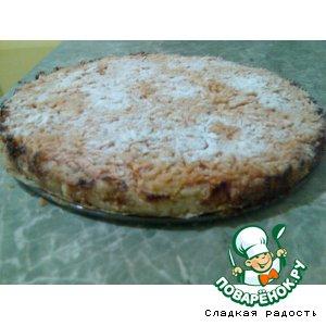 Рецепт: Польский яблочный пирог