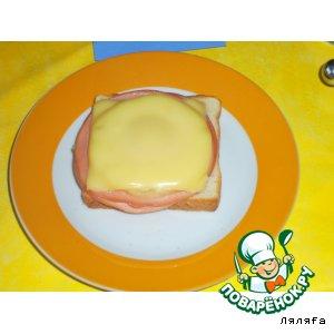 Рецепт: Горячие бутерброды по-гавайски