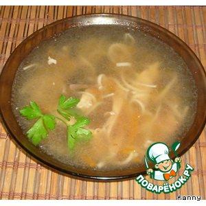 "Рецепт: Куриный суп  ""Уйхази"""