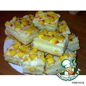 Рецепт: Творожный торт Солнечный Лис