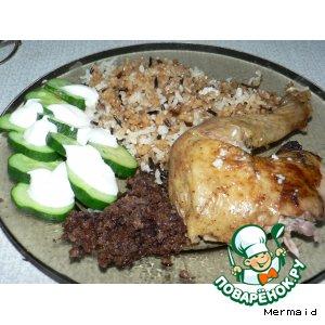 Рецепт: Курица по-азербайджански