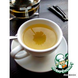 Рецепт: Имбирный чай при простуде