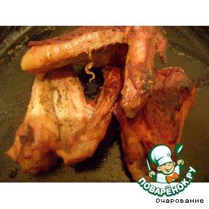 Рецепт: Крылышки куриные