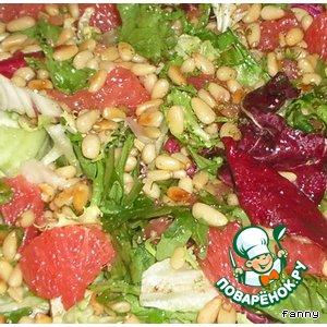 Рецепт: Салат с грейпфрутом