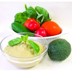 Рецепт: Майонез из авокадо
