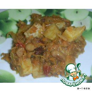 Рецепт: Рагу из овощей