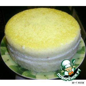 Рецепт: Торт в микроволновке за 16 минут