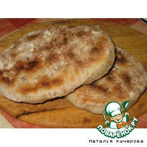 Рецепт: Маффины с гречкой на сковородке