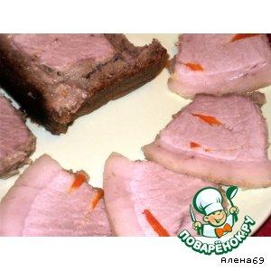 Ham in a loaf
