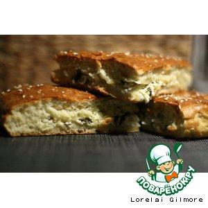 Рецепт: Пирог с брынзой