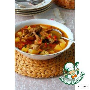 Рецепт: Перепелки в соусе с овощами