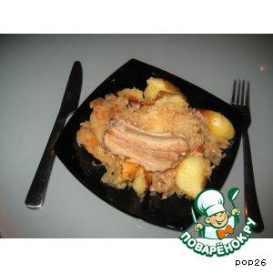 Рецепт Солянка с квашеной капустой