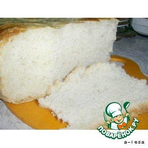 Рецепт: Бездрожжевой хлеб на закваске Вечная