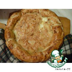 Рецепт: Капустный пирог По-деревенски