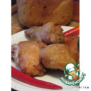 Рецепт: Курица под хмельком
