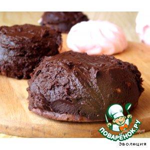 """Шоколадное печенье """"Зефирный бонус"""""""