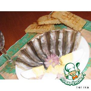 Рецепт: Славная закуска из мойвы пряного посола