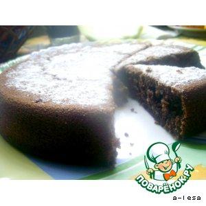 Рецепт: Ореховый пирог с мeдом