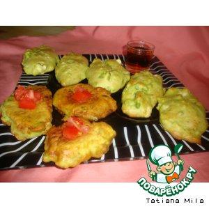 Закусочное печенье из авокадо – кулинарный рецепт