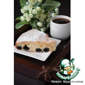 Рецепт: Пирог с засахаренными маслинами