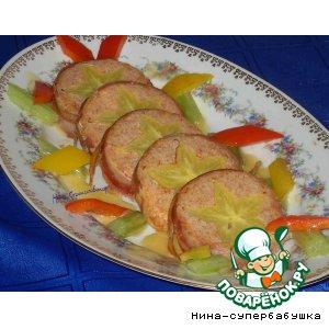 Рецепт: Рулет из свинины с карамболью