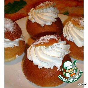 Рецепт: Эстонские масленичные булочки