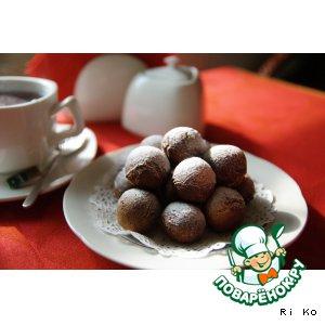 Рецепт: Итальянские медовые пончики Струффоли