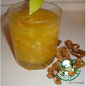 Рецепт: Апельсиновый десерт