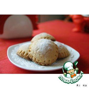 Рецепт: Песочное печенье с начинкой Сладкие равиоли