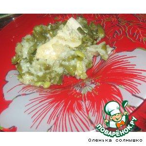 Рецепт: Курочка с рисом и овощами в рукаве