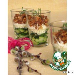 Рецепт: Хрустящие веррины с цуккини и розмарином