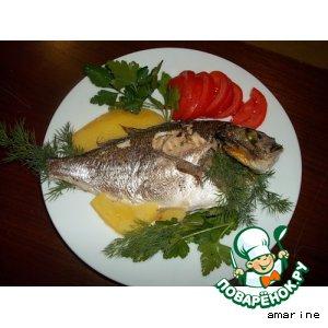 Рецепт: Рыба запеченная в духовке