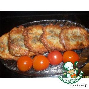 """Рецепт: Фаршированная рыбная """"мелочовка"""""""