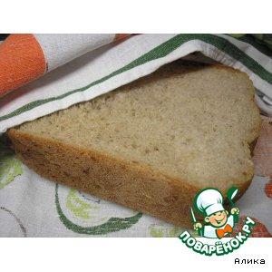 Рецепт: Хлеб на картофельном отваре
