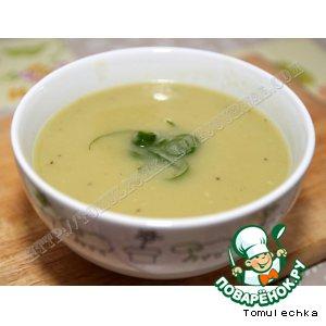 Рецепт: Суп-пюре из кабачков