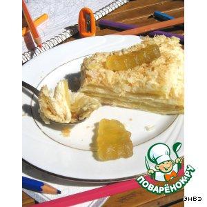 Рецепт: Старопольский яблочный пирог
