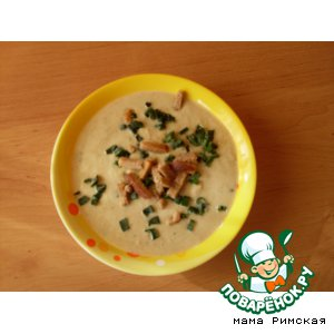 Рецепт: Крем-суп из брокколи, цветной капусты и моркови