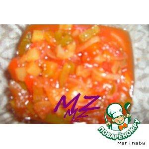 Рецепт: Приправа с ананасами