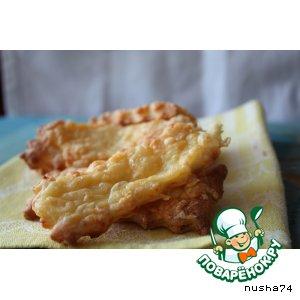 Рецепт: Печенье с сыром и сметаной