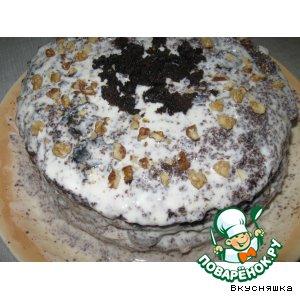 """Рецепт: Торт """"Шоколадное божество"""""""
